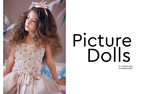 Picture dolls